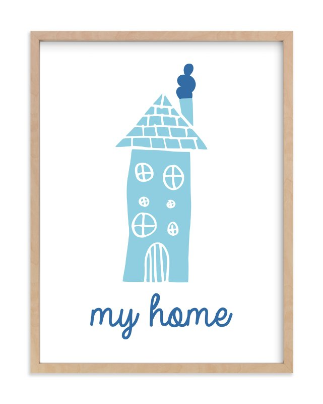 """""""Homely """" - Art Print by Linda Alam in beautiful frame options and a variety of sizes."""