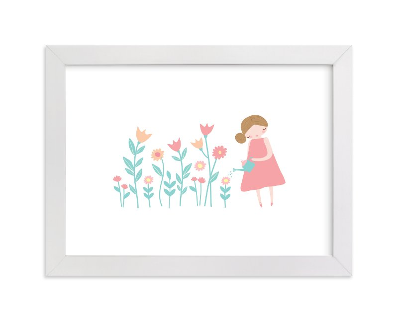 """""""What A Lovely Day"""" - Art Print by Angela Thompson in beautiful frame options and a variety of sizes."""