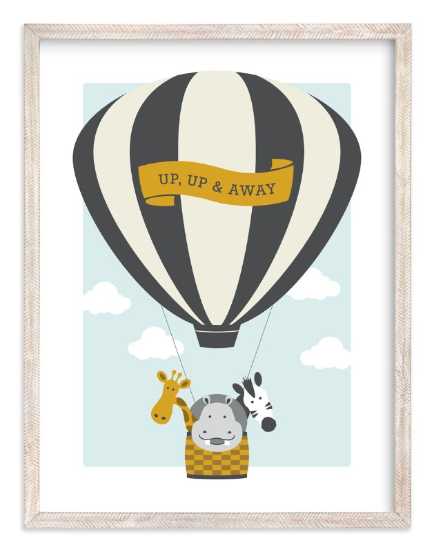 """""""Beautiful Balloon"""" - Art Print by Kampai Designs in beautiful frame options and a variety of sizes."""