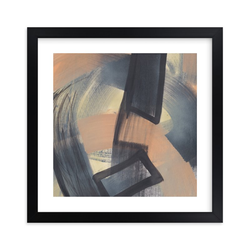 """Get Closer To Neutral Series 2"" - Art Print by Angela Simeone in beautiful frame options and a variety of sizes."