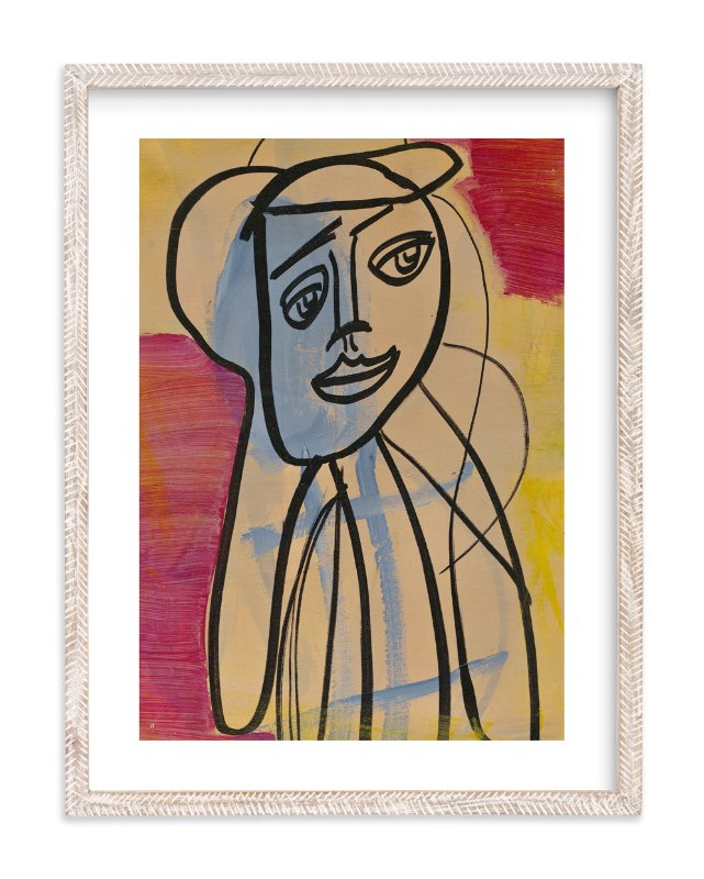 Picasso Girls Series 1 Wall Art Prints by Angela Simeone | Minted