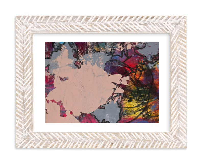 """""""Upstart Series 4"""" - Art Print by Angela Simeone in beautiful frame options and a variety of sizes."""