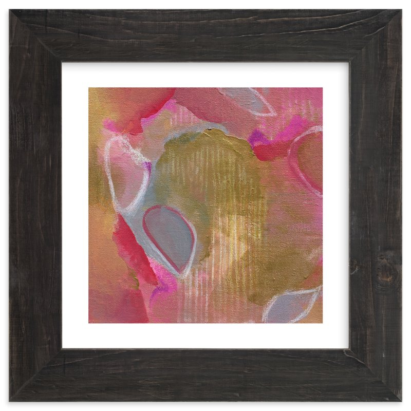 """""""Petals Painting """" - Art Print by Art by Megan in beautiful frame options and a variety of sizes."""