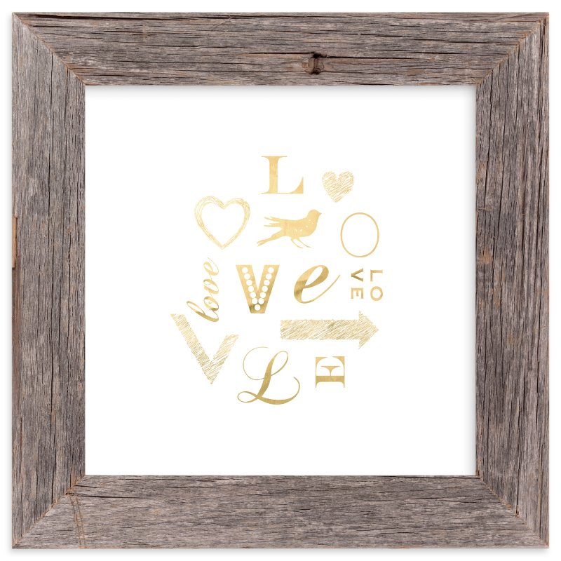 """""""My Type of Love"""" - Art Print by hey paper moon in beautiful frame options and a variety of sizes."""