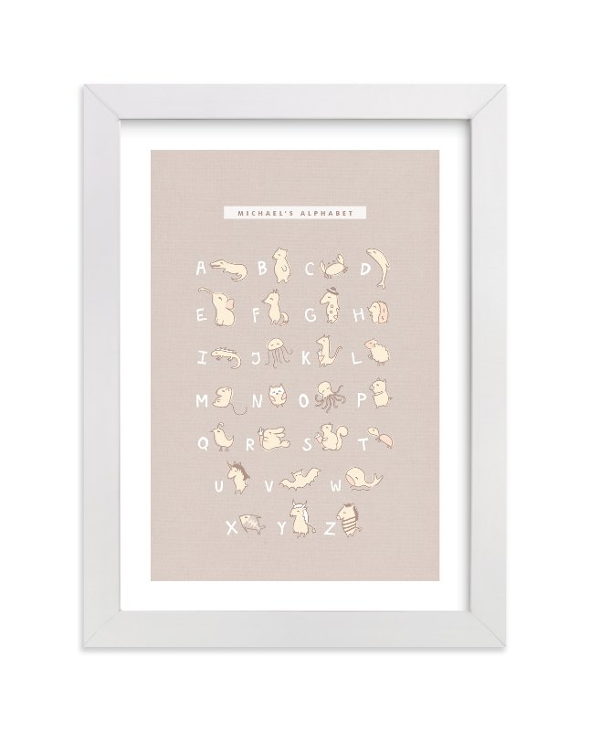 """Mascarpone"" - Nursery Custom Art Print by chocomocacino in beautiful frame options and a variety of sizes."