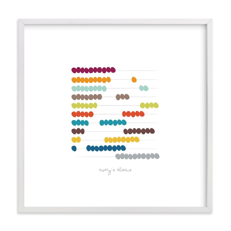 """Sticks and Stones"" - Nursery Custom Art Print by Lyndsay Johnson in beautiful frame options and a variety of sizes."