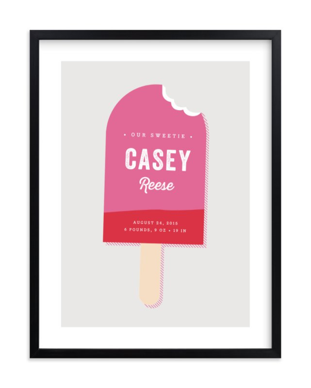"""Sweetie"" - Nursery Custom Art Print by Stacey Meacham in beautiful frame options and a variety of sizes."