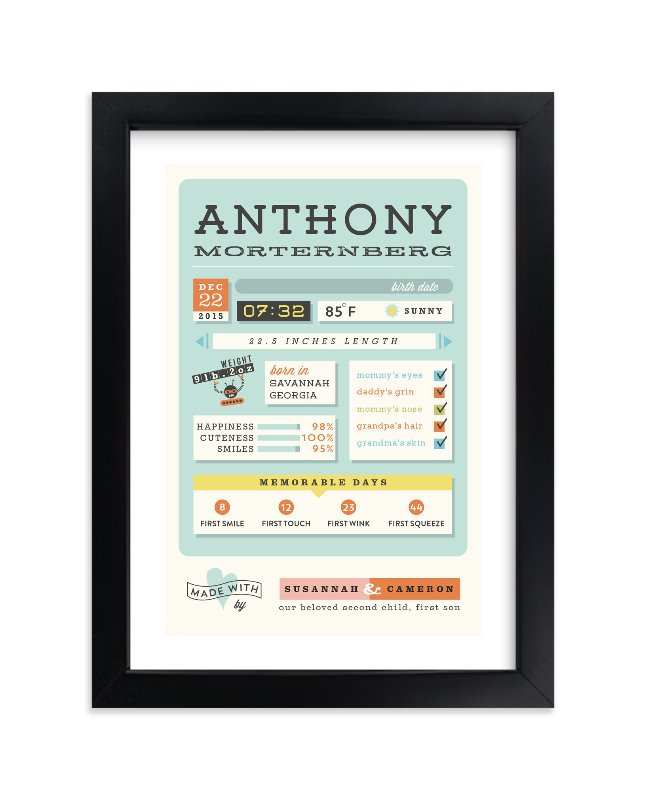 """""""Jelly Apps"""" - Nursery Custom Art Print by chocomocacino in beautiful frame options and a variety of sizes."""