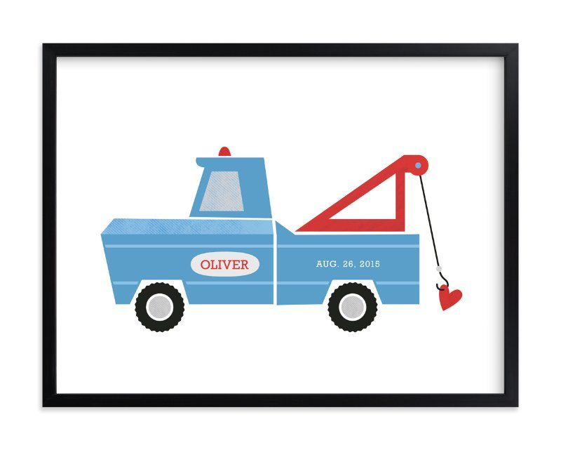"""""""Hook Line and Sinker"""" - Nursery Custom Art Print by Frooted Design in beautiful frame options and a variety of sizes."""