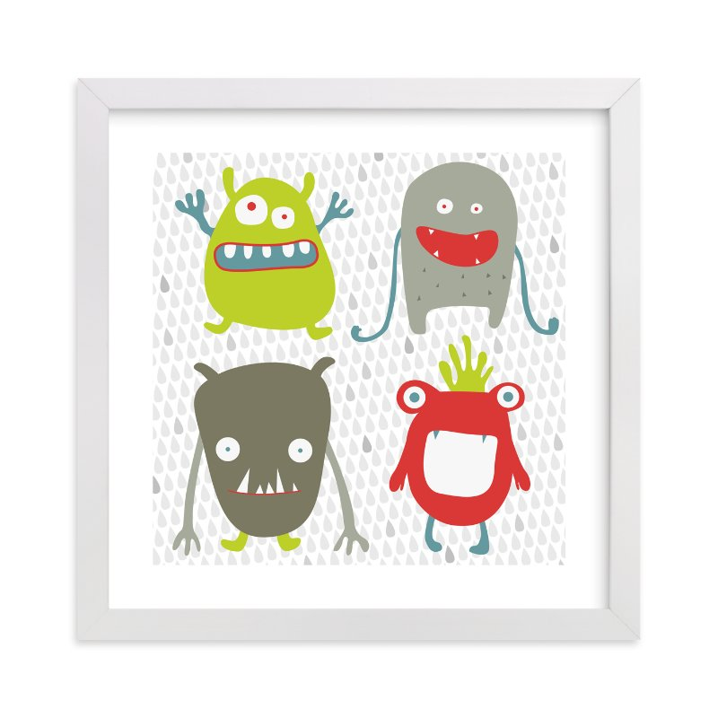 """Monster Mash"" - Limited Edition Art Print by Sharon Rowan in beautiful frame options and a variety of sizes."