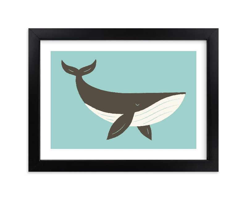 """""""Ocean Blue"""" - Limited Edition Art Print by Bob Daly in beautiful frame options and a variety of sizes."""