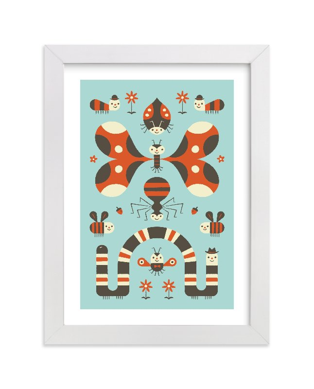 """""""Little Buggers"""" - Limited Edition Art Print by Bob Daly in beautiful frame options and a variety of sizes."""