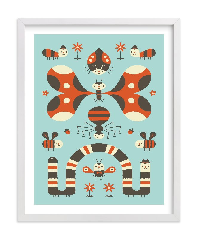 """Little Buggers"" - Limited Edition Art Print by Bob Daly in beautiful frame options and a variety of sizes."