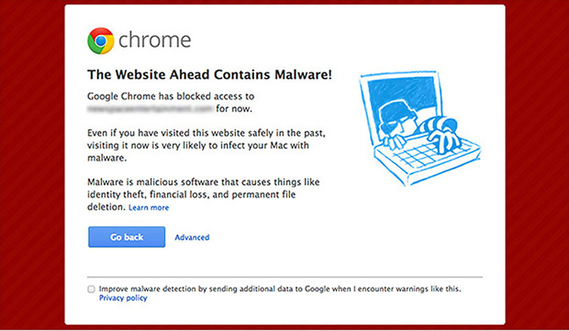This Website Contains Malware