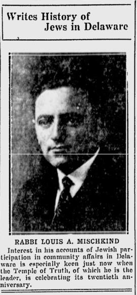 Rabbi Louis A. Mischkind