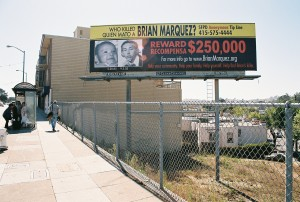 The new billboard is located on Maynard and Mission.