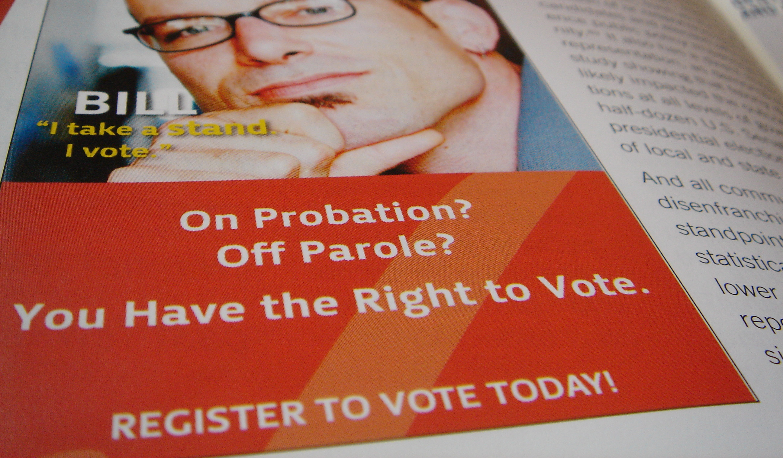 Confusion Keeps Former Prisoners From Regaining Right to Vote