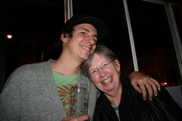 Sherry Sgolberg and son Jesse Lyons