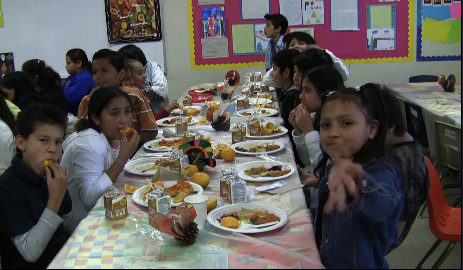 VIDEO: Mission Education Center Students Celebrate First Thanksgiving
