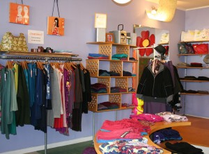 Dema Grim fills her store with designs from her line and other independent designers.