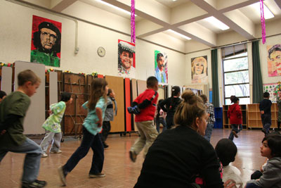 Students Whirl to a Mexican Beat