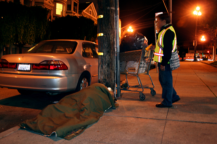 Homeless Hunting Near the Mission