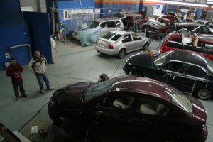 Bird's eye view of International Auto