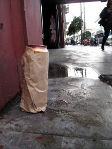 Litter and open containers are still a familiar sight on 16th Street.