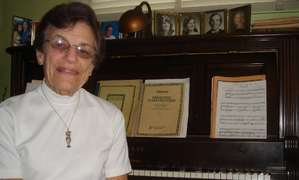 Piano Teacher Still Strong After 60 Years