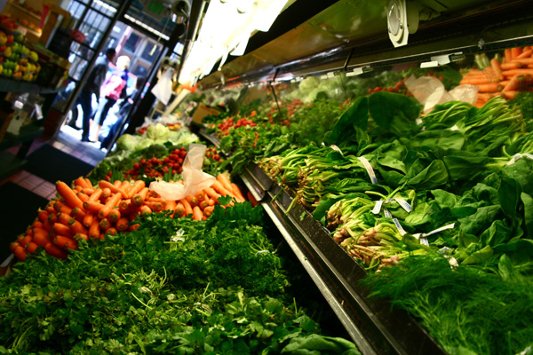 Groceries on Mission Street