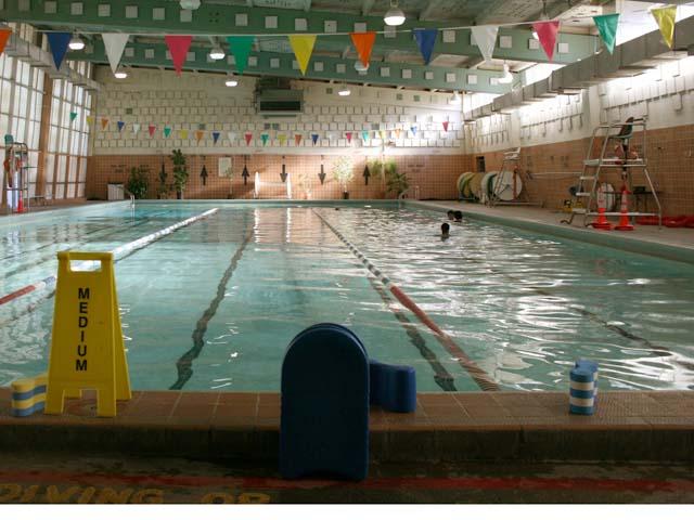 Garfield pool.