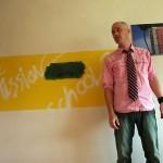 David Buuck, writer as art. Photo by Steve Saldivar