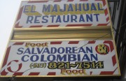 El Majahual on Valencia Street serves up tasty Salvadorian and Colombian cuisine.