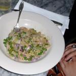 Inma's risotto.