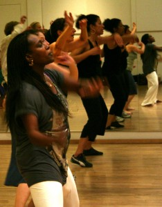 Tania Santiago, from Carnival Queen to choreographer.