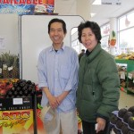 Amanda and Howard Ngo at their recently reopened Duc Loi Supermarket