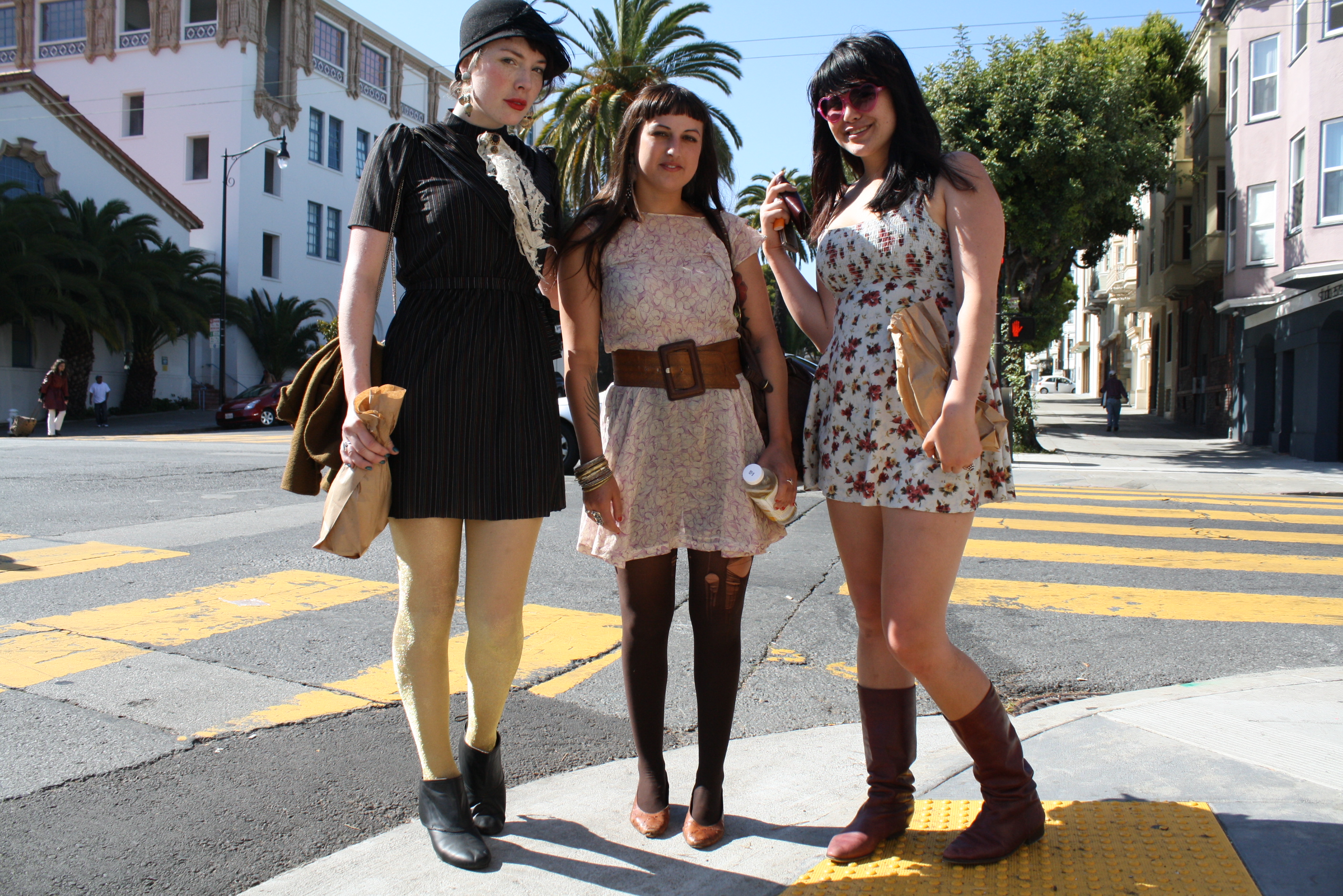 Dress Code: Ripped Tights and Flappers