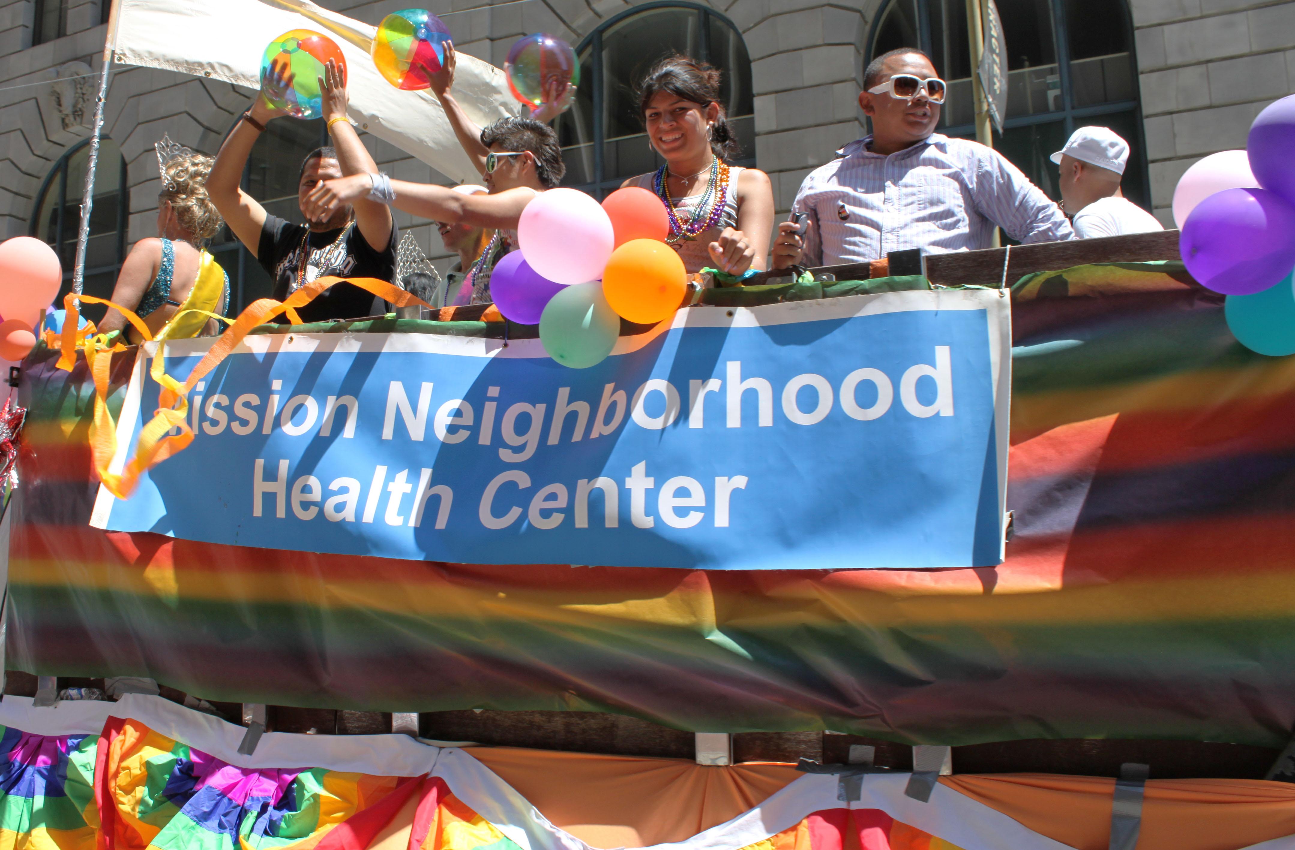 David Campos Marches with Pride