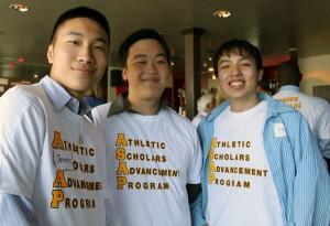 Terence Li, Doug Gee and Henry Li