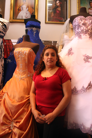 Mexican Immigrant Works to Dress People On Special Occasions
