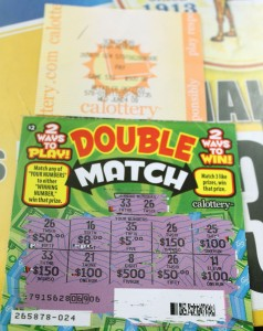 A $400 winning ticket from Valencia Grocery and Deli.