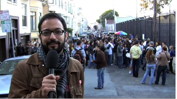 VIDEO: Mission Eyes @ Street Food For Singles in the Mission