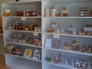 Inside Her Majesty's Secret Beekeeper shop