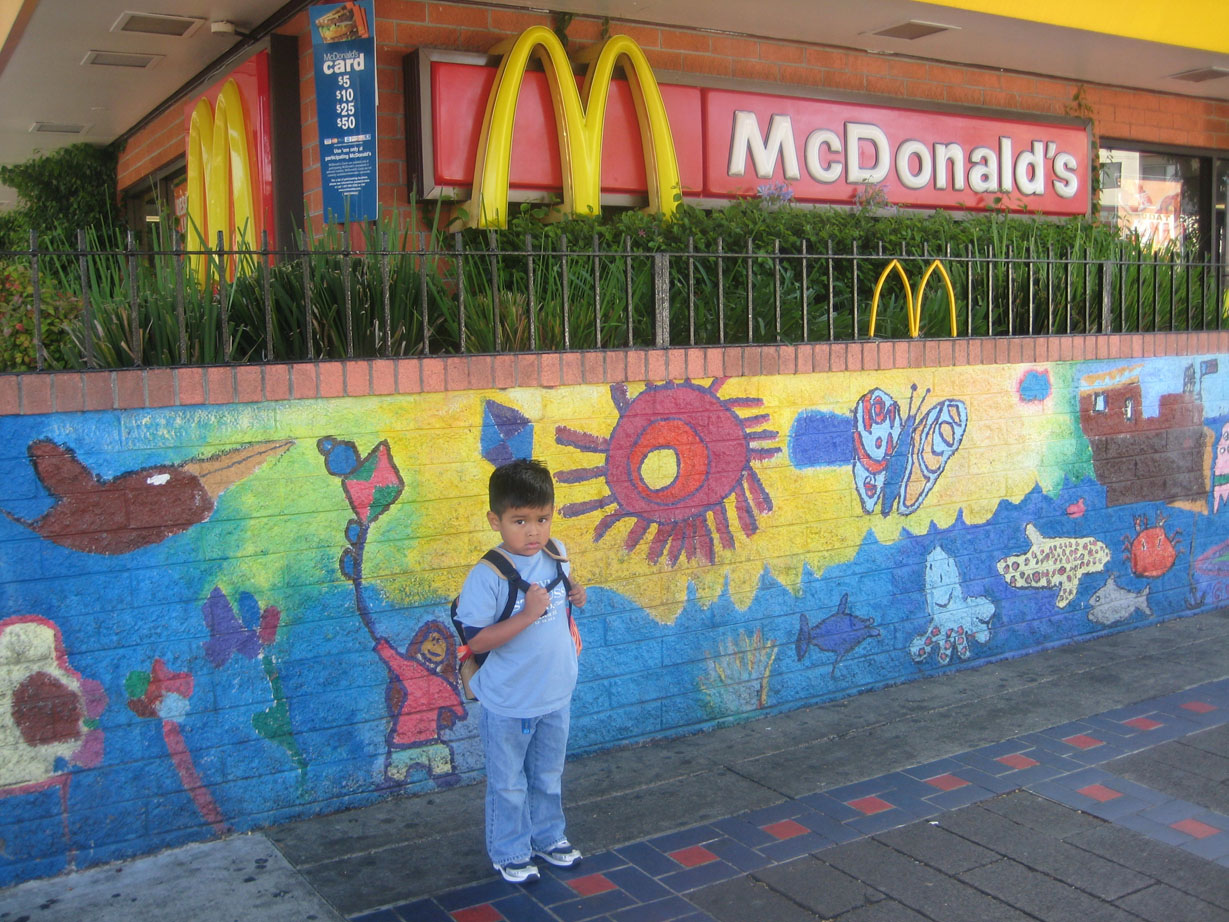 First Day of School? First Stop McDonald's