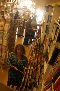Olivia De Leon at Nueva Libreria Mexico