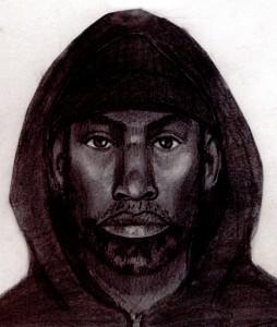 Police sketch of suspect in MUNI stabbing