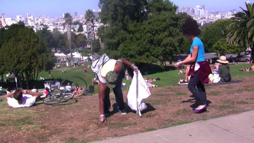Dolores Park Cleanup