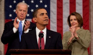 Obama addresses Congress. (Pete Souza)