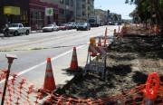 Valencia Street under construction