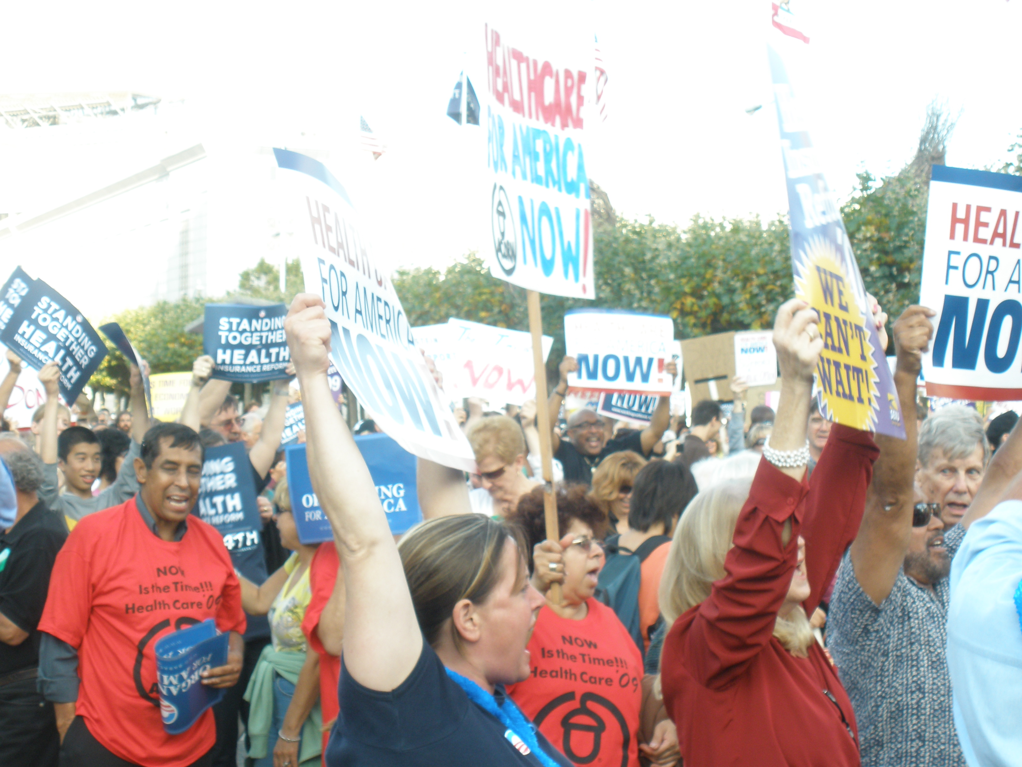Health Care Reformers Rally Back